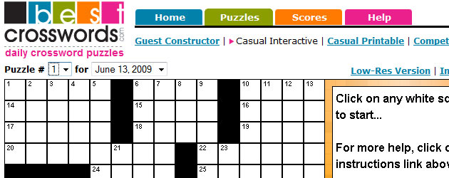 BestCrosswords.com