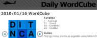 Daily WordCube