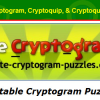 Printable Cryptograms