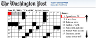 Washington Post Crossword