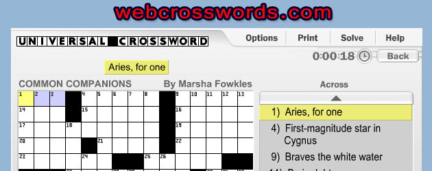 WebCrosswords.com